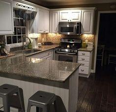 Kitchen Cabinet Design, Kitchen Redo, Kitchen Layout, Home Decor Kitchen, Interior Design Kitchen, New Kitchen, Kitchen Remodel, Kitchen Dining, Home Renovation