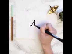 Hand lettering can appear to be a daunting task, but when you break it down to the fundamentals, it's simpler than it seems. So let's talk Brush Lettering Worksheet, Hand Lettering Alphabet, Script Lettering, Hand Lettering For Beginners, Hand Lettering Tutorial, Craft Closet Organization, Diy Wood Signs, Frame Crafts, As You Like