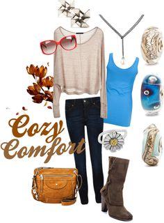 """Cozy Comfort"" by trollbeadbracelets on Polyvore"