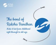 ApnaCare wishes you a #HappyRakshabandhan! Let the Rakhi be a bond not only of the love between brother and sister but also of their commitment to health and wellness in life. Read more http://apnacare.in/Raksha-Bandhan #eldercare #elderlycare #ApnaCare #healthcare #homenursing #Rakshabandhan