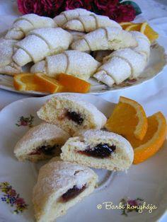Barbi konyhája: Narancsos kifli Doughnut, Sushi, Pastries, Ethnic Recipes, Cakes, Food, Cake Makers, Tarts, Kuchen