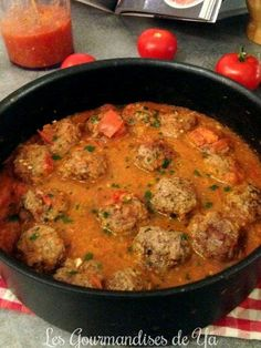 Boulettes de boeuf à la tomate LGY