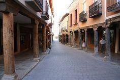 Valladolid Soportales Medina de Rioseco