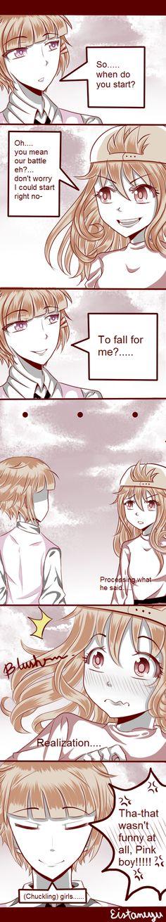 Genderbend Comic ( REDandPINK) by Eistaneyu on DeviantArt