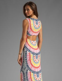 REVOLVEclothing- amazing print, style and colors! Could wear this anywhere!!