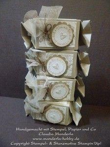 Handgemachtes Geschenkset Stampin´Up! B-Day Knallbonbon Set 1)   eBay