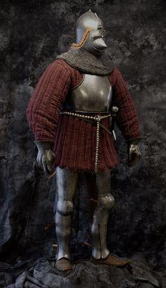Personal Armor, Armadura Medieval, Sci Fi Armor, Armours, Armor Concept, Medieval Armor, 14th Century, Larp, Warfare