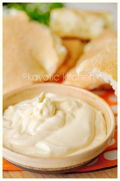 Spanish-style Allioli (Olive Oil And Garlic Mayonnaise) Recipe ...