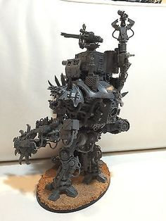 Warhammer 40K Ork Looted Imperial Knight A Mega Dread Stompa