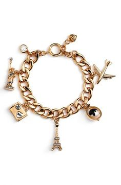 I don't usually wear jewls but I would totally wear this!  JC Travel Charms.
