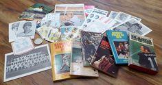 Baseball Sports Ephemera 1970s Lot Pirates Phillies Schedules Coin Books Cards