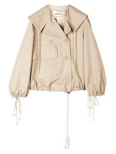 See By Chloé Cropped Cotton Jacket Image 0 I Love Fashion, Luxury Fashion, Fashion Design, Jacket Images, See By Chloe, Cotton Jacket, Outerwear Women, Designing Women, Fashion Online