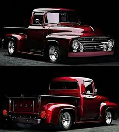 Chevy trucks aficionados are not just after the newer trucks built by Chevrolet. They are also into oldies but goodies trucks that have been magnificently preserved for long years. Pickup Trucks, Pickup Auto, Old Ford Trucks, Lifted Trucks, Lifted Ford, Diesel Trucks, Ford Diesel, Jeep Pickup, F100 Truck