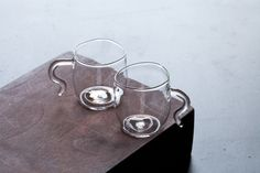 Malfatti espresso glasses with handles