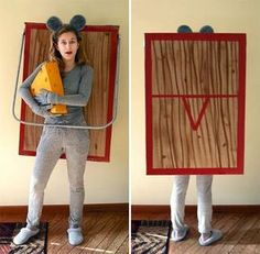 Awesome DIY Halloween Costume Ideas for Teen Girls to help you get ready for Halloween. Fun Halloween costume ideas your teenager will love. Halloween Costume Contest Winners, Carnaval Costume, Halloween Peeps, Halloween Costumes 2014, Fete Halloween, Halloween Couples, Group Halloween, Easy Homemade Halloween Costumes, Original Halloween Costumes