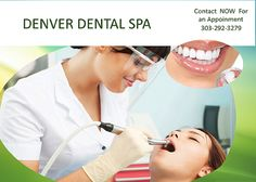 "Why come to ""Denver Dental Spa"". Precise and professional dental cleaning. Never before seen experience. Great atmosphere. Andrada is in her early thirties and she feels that it's time her generation be the one that changes the way you see the ""dentist"". Private dental hygiene practice preventing you from going to the dentist."