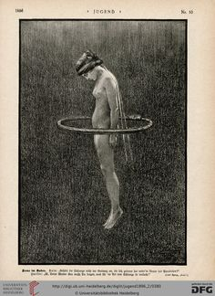 Jugend magazine illustration 1896