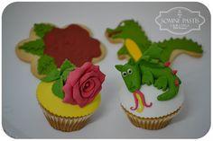 Cupcakes y galletas para Sant Jordi