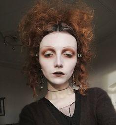 Edgy Makeup, Gothic Makeup, Cute Makeup, Pretty Makeup, Skin Makeup, Makeup Inspo, Makeup Art, Makeup Inspiration, Makeup Tips