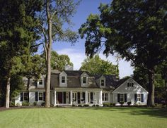 Addition and Renovation to a Coastal Home traditional-exterior