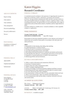 Academic Resume Template Sample Job Application Cover Letter  Httpwwwresumecareer