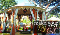 Grosgrain: Make Your Own Raj Tent!!!!