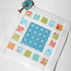I am finishing up my Farmer's Wife 1930s quilt and this is the penultimate post with six blocks detailed......   ...