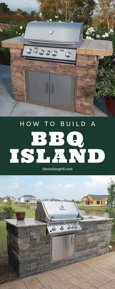 How to Build a BBQ Island with Steel Studs - Looking to build the ultimate outdoor kitchen and patio? Here's how to use steel studs and tracks to build the perfect outdoor BBQ island for your backyard. Build Outdoor Kitchen, Outdoor Kitchen Design, Outdoor Cooking, Outdoor Kitchens, Outdoor Spaces, Indoor Garden, Outdoor Gardens, Mexican Style Kitchens, Bbq Island