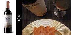 Viña Lanciano 2010 y tacos de salmón escocés.