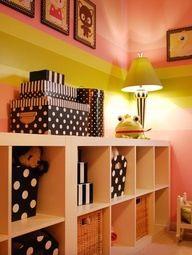 Neat storage and art