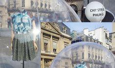 "Designer @Christine Phung at Made in France ""Salon de la Haute-Façon"" #paris"