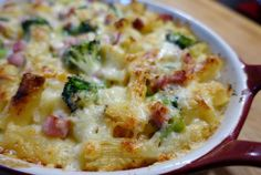 Gratin of Pasta with Vegetables