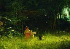 Ivan Kramskoy, Bambini nella foresta, 1887 Bellintani