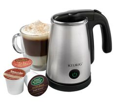 Keurig Cafe One-Touch Milk Warmer, Steamer, andFrother