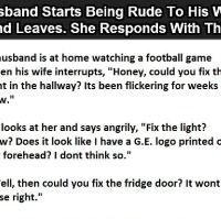 Angry husband got the taste of his own medicine…this is hilarious. (Click To Enlarge).