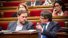 """El Món   Junqueras mostra """"tot el respecte"""" a Puigdemont després de dir que no serà president el 2018   Política, 06/01/2017"""