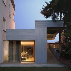Villa T-Extension, by OFIS Arhitekti, for whom I've declared my love time and time again.