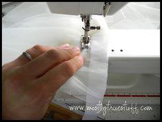How to sew a fluffy tutu