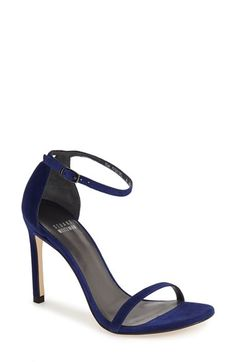 Stuart+Weitzman+'Nudistsong'+Ankle+Strap+Sandal+(Women)+available+at+#Nordstrom