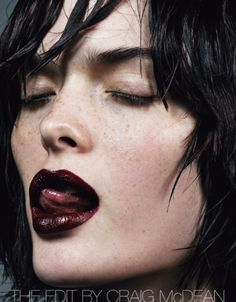 The Edit: #SamRollinson & #AshleighGood by #CraigMcDean for #VogueItalia September 2013