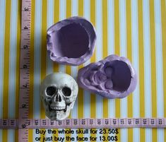 Hey, I found this really awesome Etsy listing at https://www.etsy.com/nz/listing/243567970/halloween-3d-skull-silicone-mold-mould