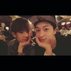 Minwoo and Donghyun