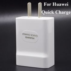Original for Huawei Quick Charge 2.0 Fast Charge 9V 2A / 5V 2A Mobile Phone Charger USB Charging US/EU Plug 1Pcs/lot