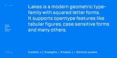 TT Lakes Font Family