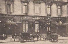 La place de la Bourse et le restaurant Champeaux - Paris 2e 1900