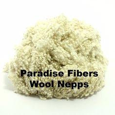 Paradise Fibers Wool Nepps