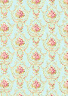 shabby chic wedding pattern #shabbychic #weddingideas