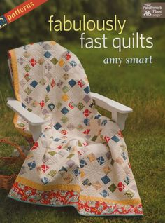Fabulously Fast Quilts - Softcover By Smart, Amy  - Popular blogger Amy Smart shares the tips and techniques she uses to quickly create complex-looking quilts. This go-to collection is ideal for beginners as well as experts who want to make a striking yet speedy quilt.    Enjoy 12 versatile designs that have lots of movement and work well with many styles of fabric--a terrific value  Choose from three quilts in each of four shortcut categories: strip piecing; quick corners; slick slicing…