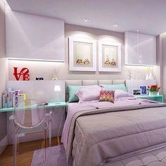 So much love... ❤️ #inspiração #quartocasal #bedroom {Projeto: @marcelagabetto}