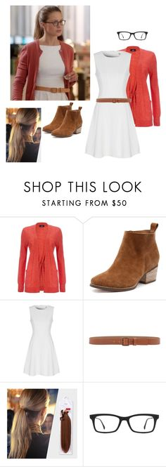 """Kara- Supergirl"" by cray-cray-cupcake on Polyvore featuring True Decadence, Armani Collezioni, Balmain and Ray-Ban"